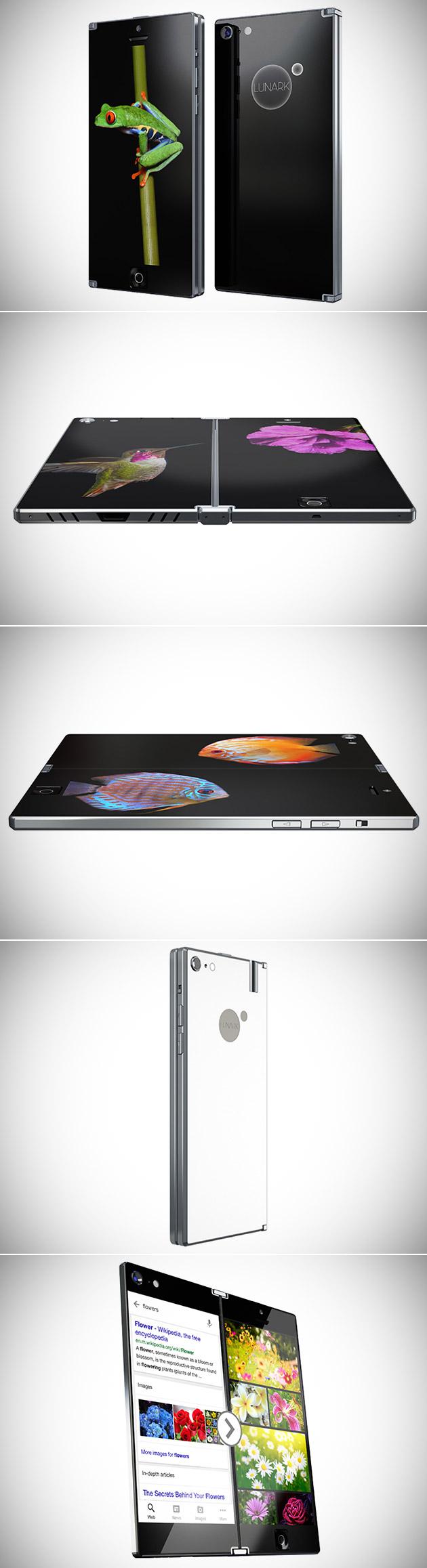 Lunark Dual-Display Smartphone