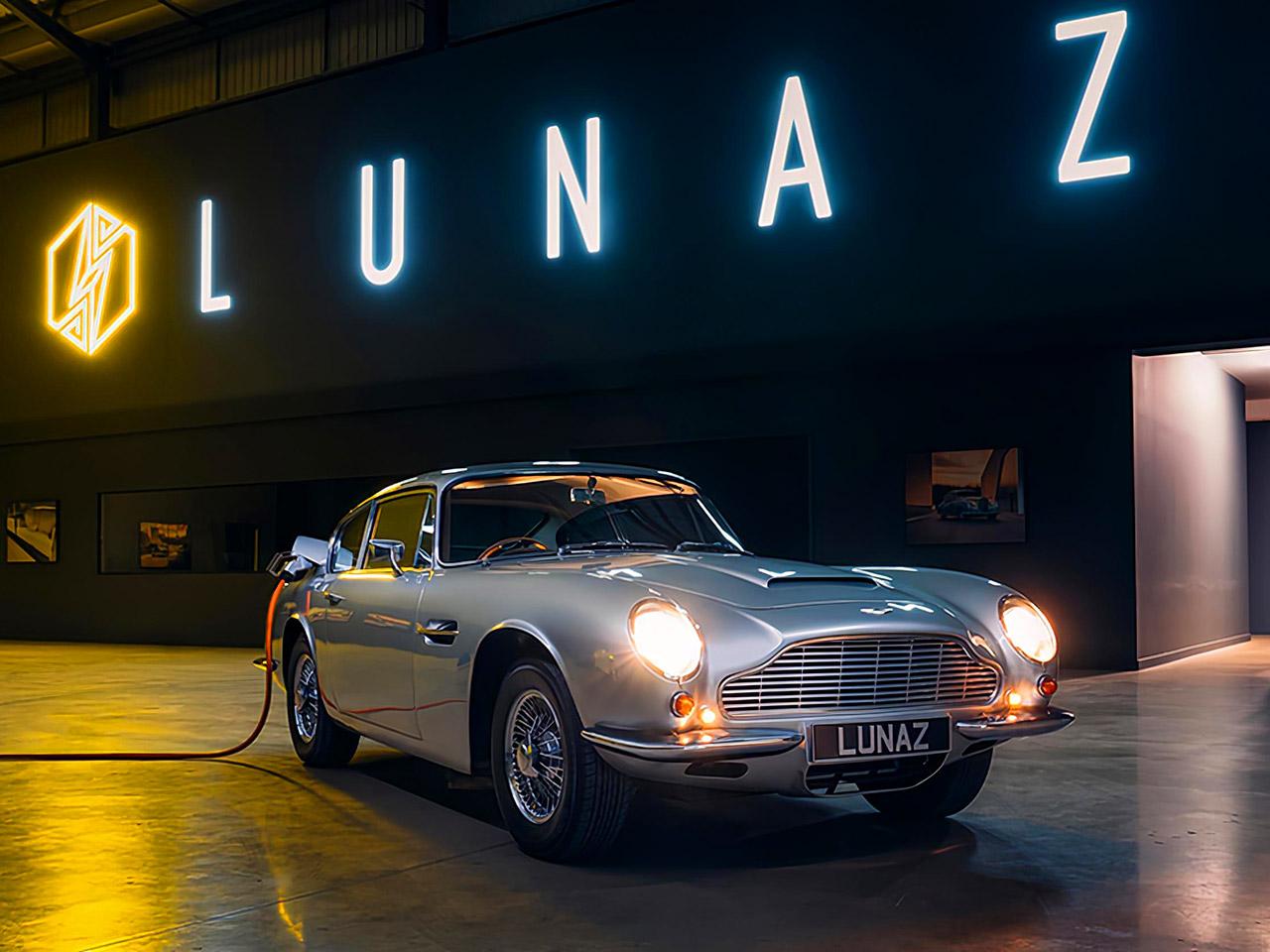 Lunaz Electric Aston Martin DB6 James Bond No Time to Die