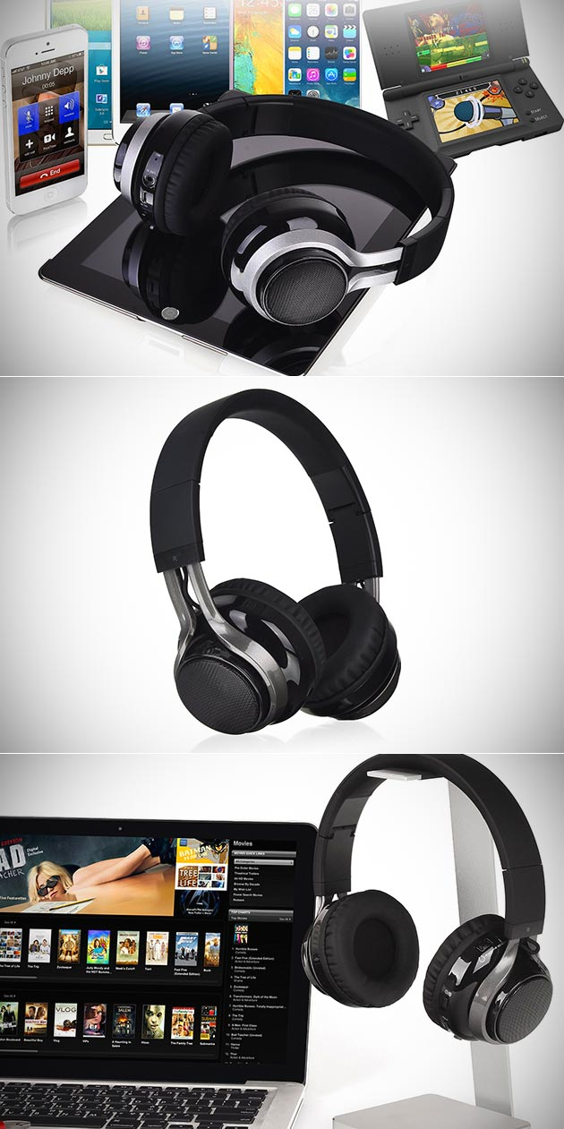 LUXA2 Lavi S Bluetooth Headphones