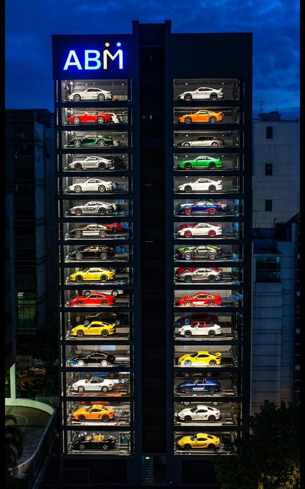 Luxury Car Vending Machine