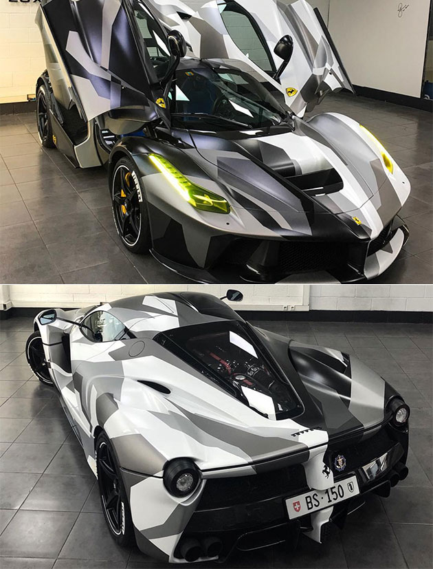 Luxury Custom LaFerrari