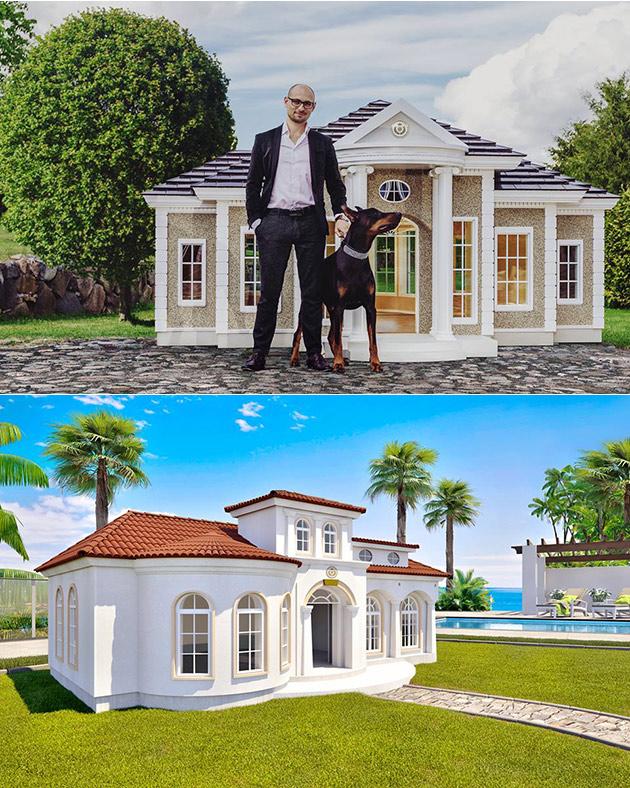 Luxury Dog Mansion