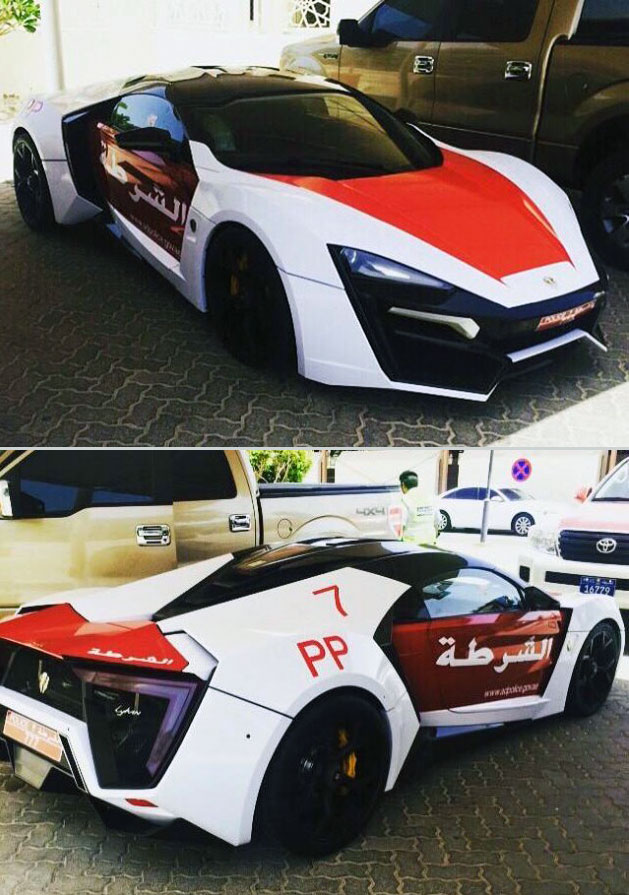 Bugatti Veyron Hypersport lykan hypersport added to dubai police force, is more expensive than
