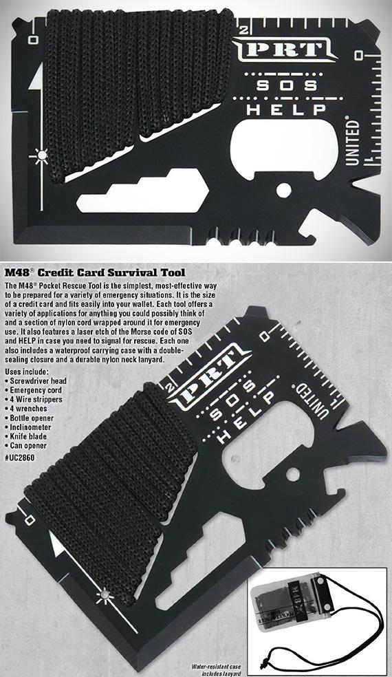 M48 Kommando Pocket Rescue Survival Tool