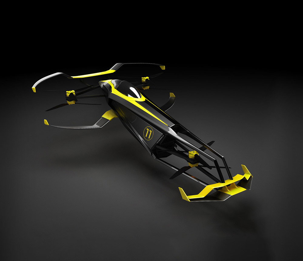 MACA Hydrogen-Powered Carcopter