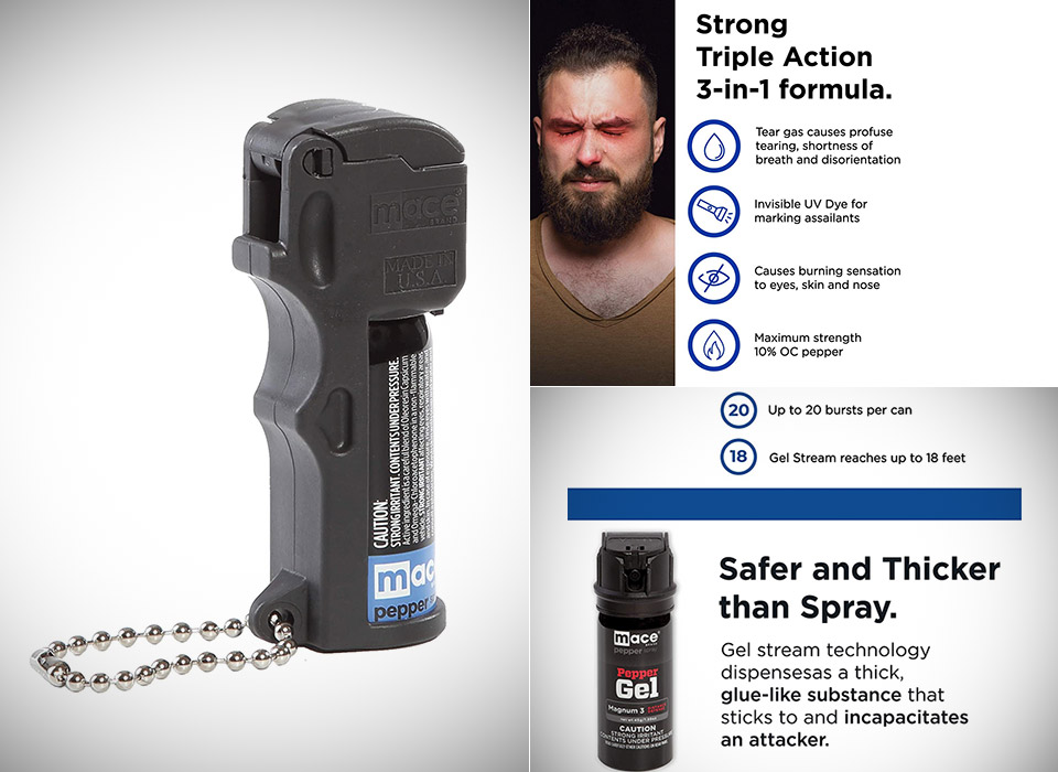 Mace Triple Action Pocket Pepper Spray