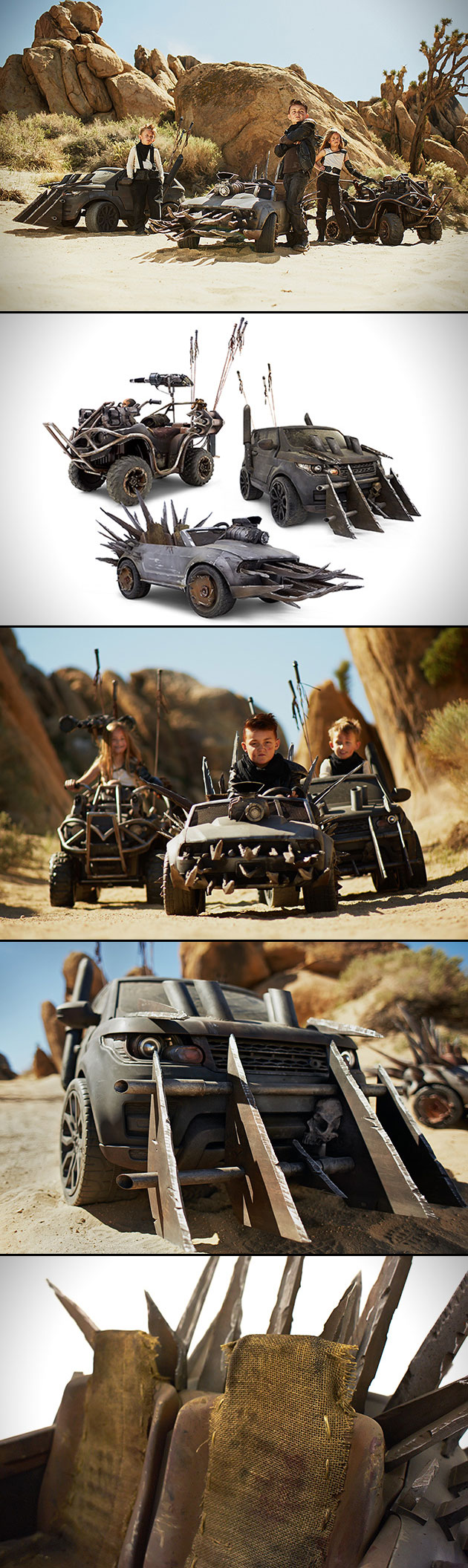 Mad Max Power Wheels Desert Drifters