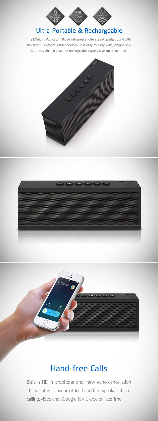 MagicBox Bluetooth Speaker