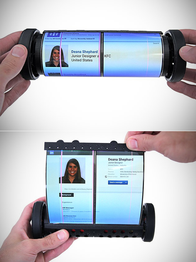MagicScroll Rollable Tablet