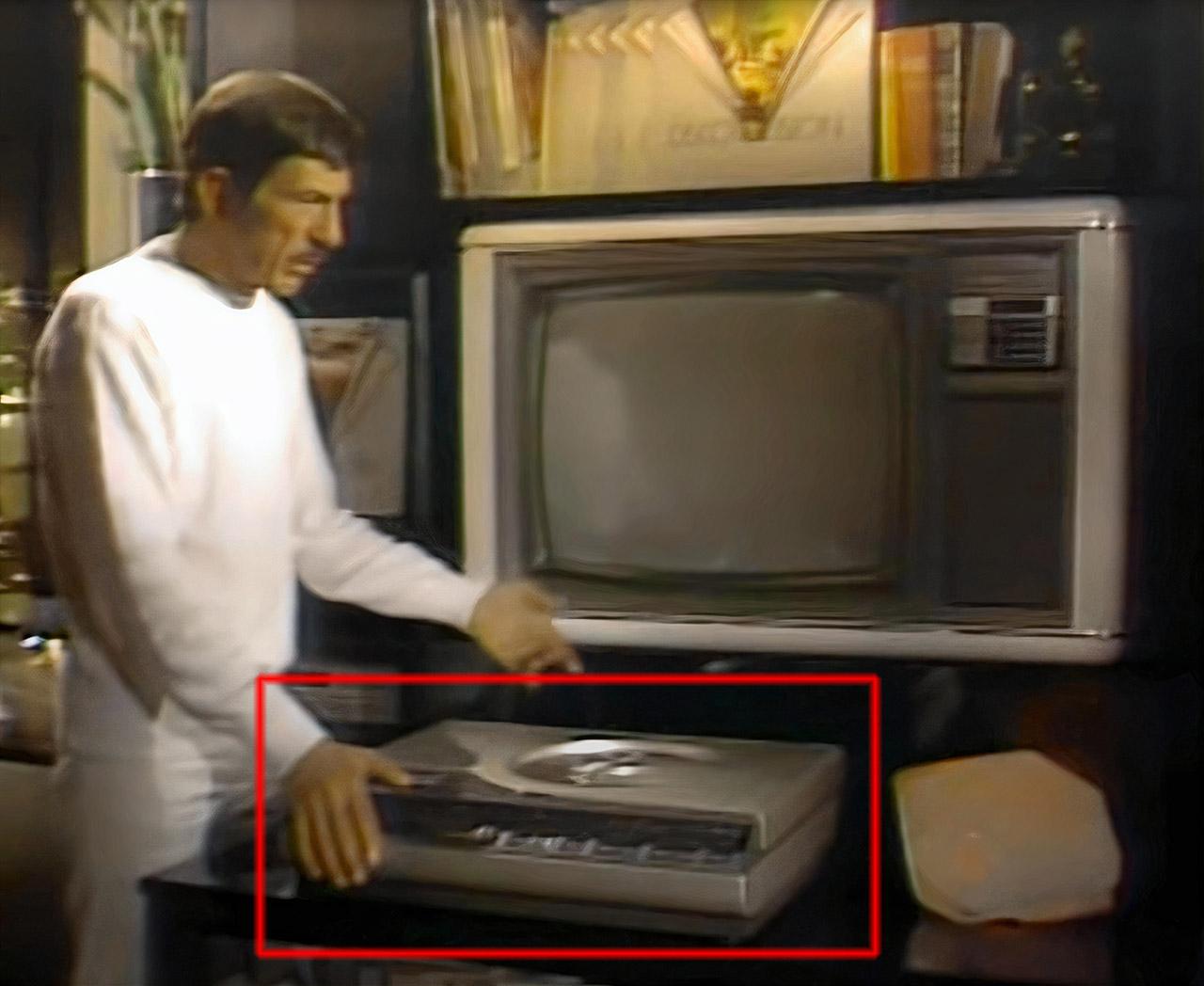Magnavision LaserDisc Player Leonard Nimoy