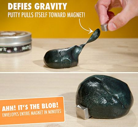 Magnetic Silly Magnetic Silly Putty Defies