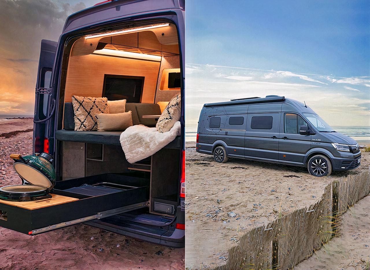 MAN TGE Expedition Vehicle Van Loef Camper