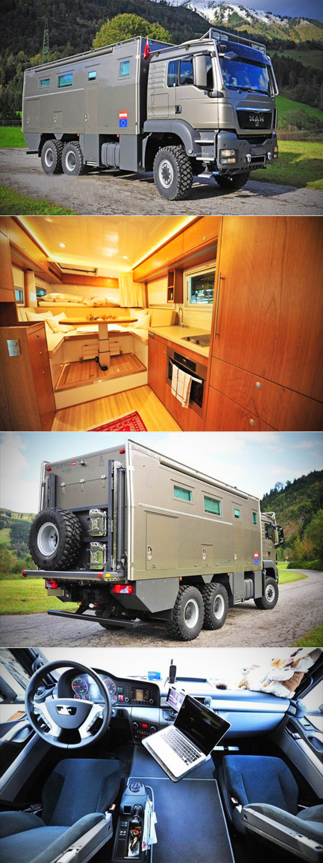 MAN TGS Expedition Vehicle