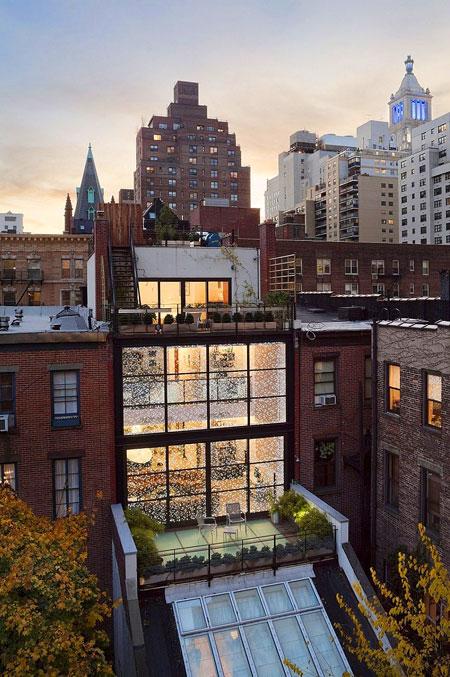 20 Something Manhattan Apartment: Manhattan Apartment Transformed Into Multilevel Dream Home