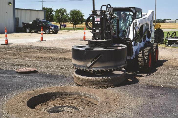 Manhole Machine