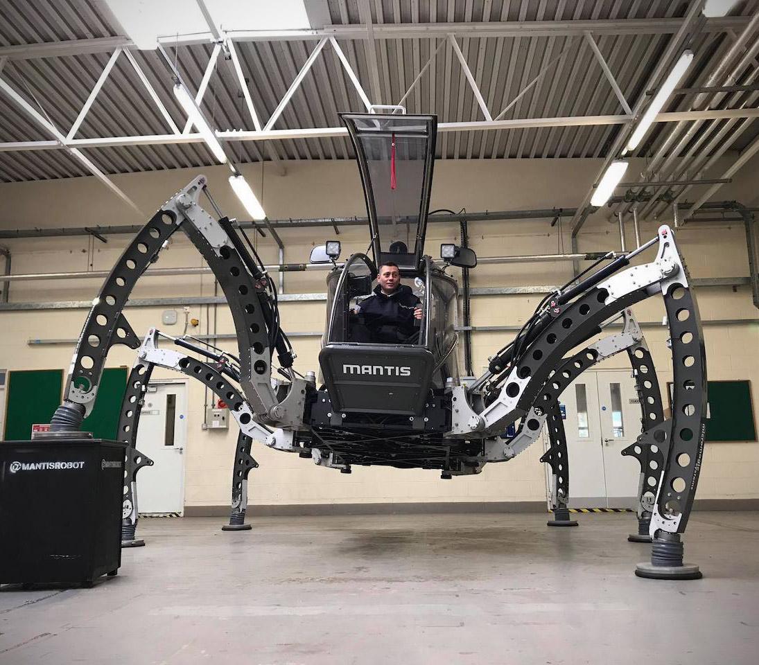 Mantis Largest Hexapod Robot