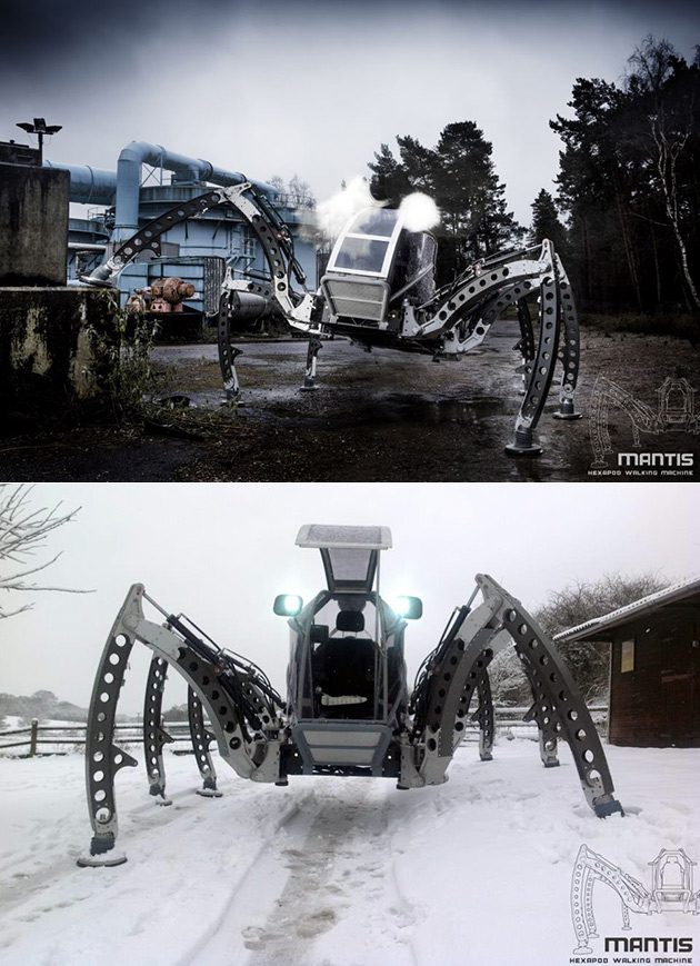 Mantis Walking Robot