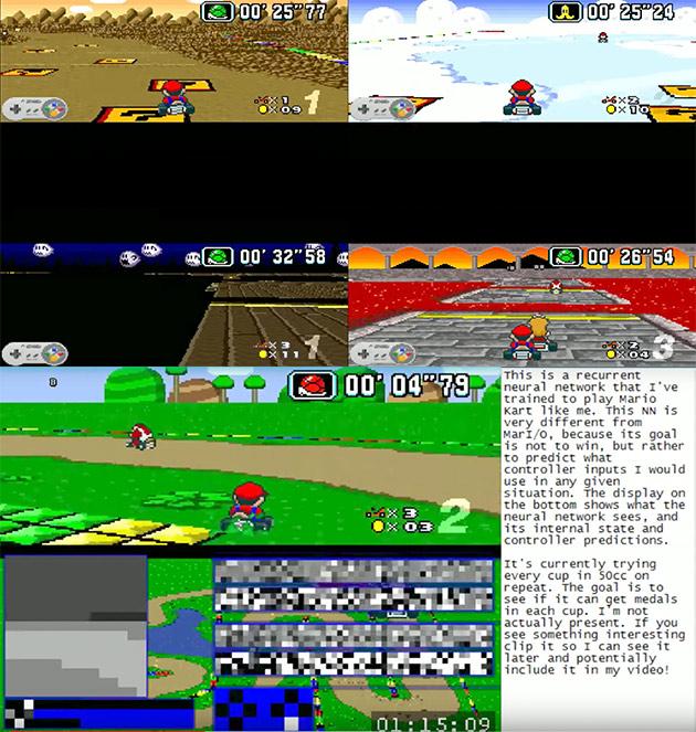MariFlow Mario Kart AI