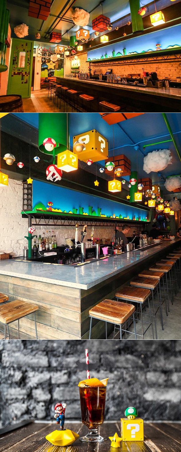 Mario Bros. Bar
