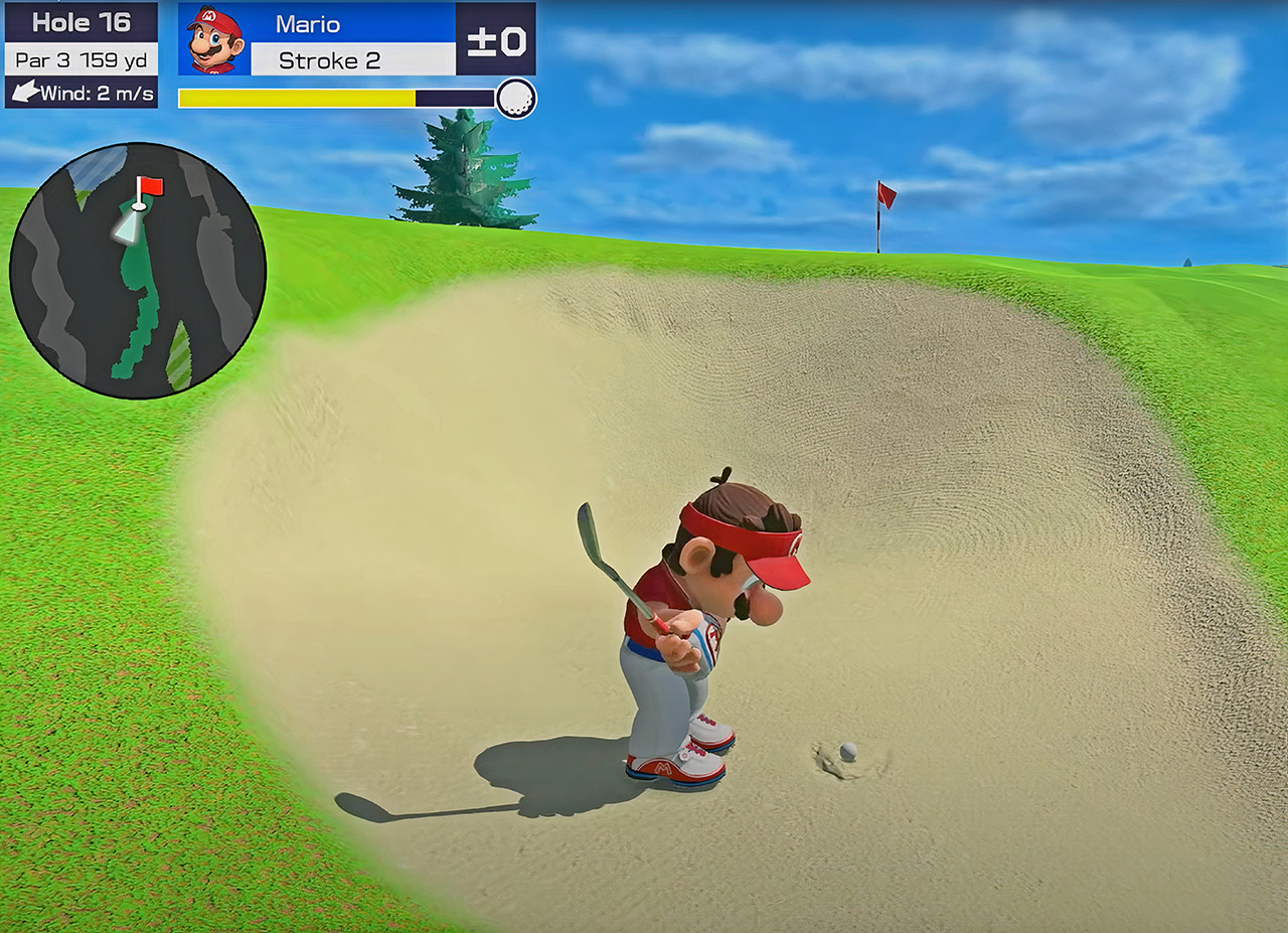 Mario Golf: Super Rush Nintendo Switch