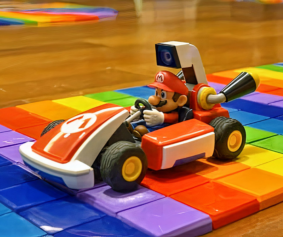 Mario Kart Live 3D Printing Rainbow Road