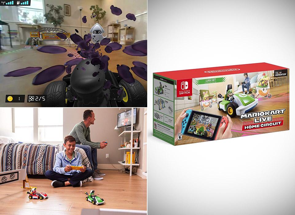 Mario Kart Live: Home Circuit Luigi Set