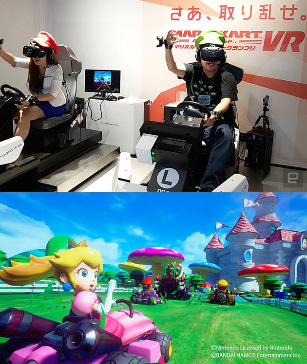 VR Mario Kart