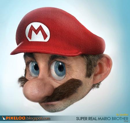Mande qual seu wallpaper 3d mais realista Marioreal