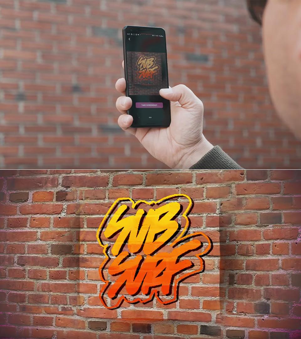 Mark AR Virtual Graffiti Google