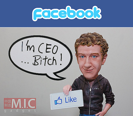 matter of time before Facebook CEO Mark Zuckerberg got his own as well.