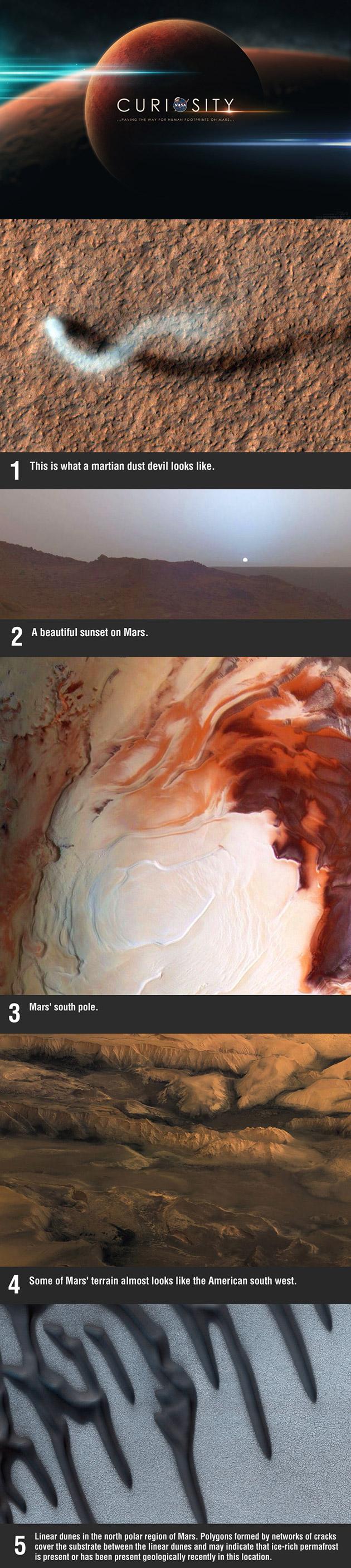 Mars Fascinating Photos