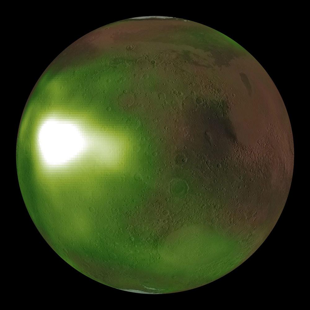 Mars Nightglow