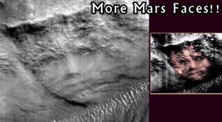 5 Cosas extrañas y bizarras que han sido avistadas en Marte