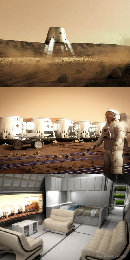 Mars One Mission Selects 100 Finalists for One Way Trip to ...