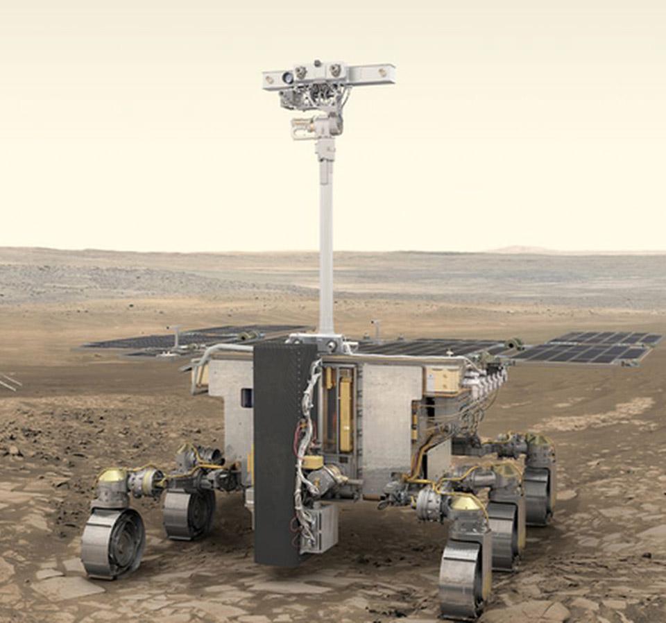 Mars Rover Rosalind Franklin