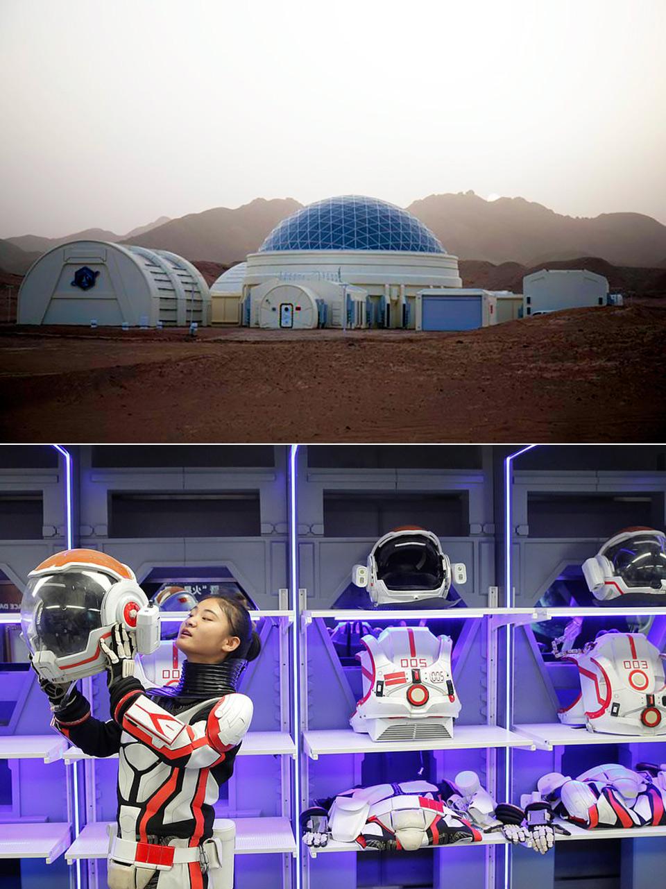Mars Simulation Base Earth China