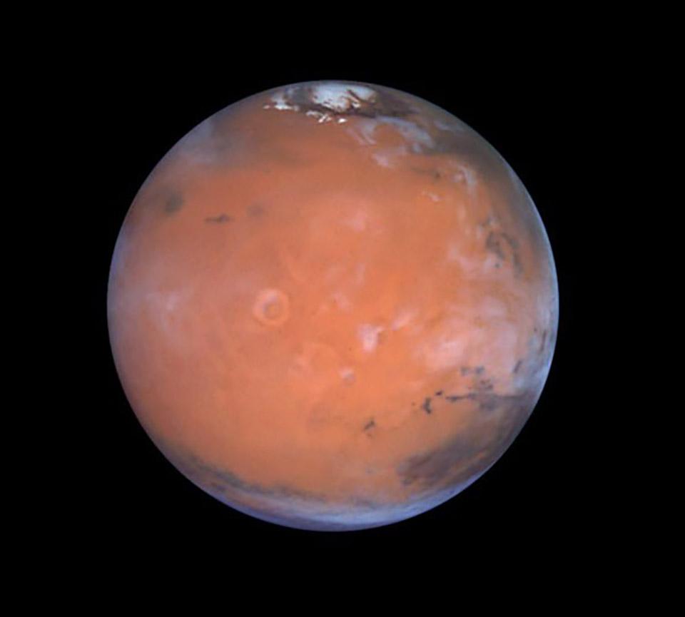 Mars Subglacial Buried Lakes Liquid Water