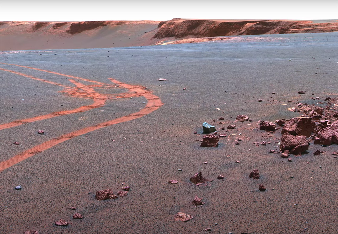 Mars Surface 4K Video