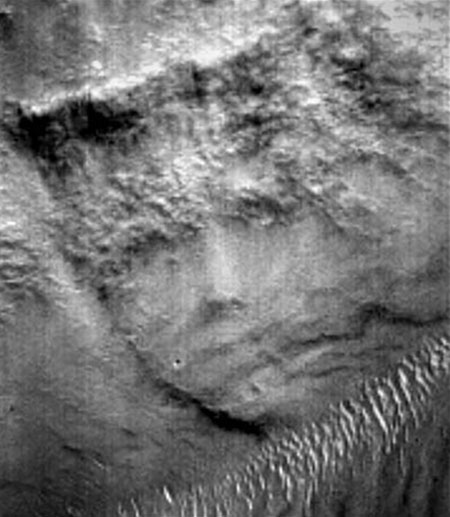 face on mars and moon - photo #3