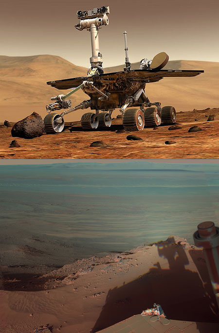 Mars Rover Opportunity Set to Complete First ...