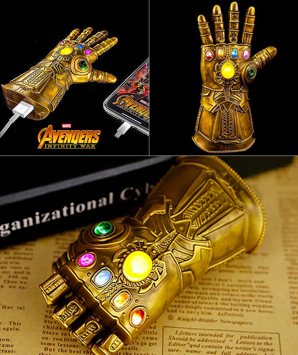 Marvel Infinity Gauntlet Power Bank