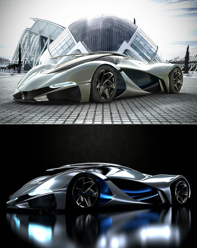 Maserati LaMaserati is a Student-Designed Hypercar Powered by 6.3L