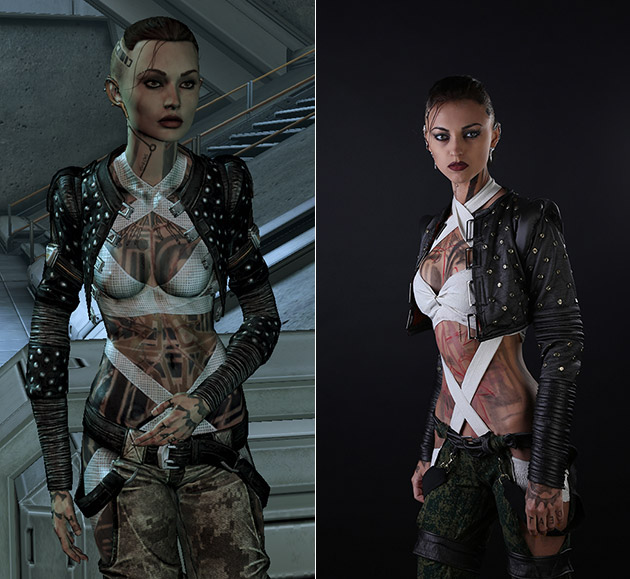Mass Effect Jack Real Cosplay