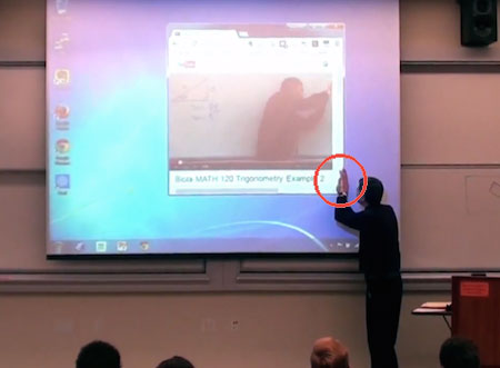 Math Professor Prank