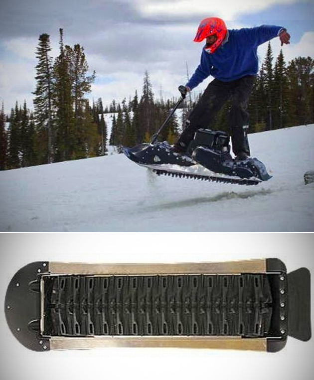 Mattracks Motorized Snowboard Powerboard