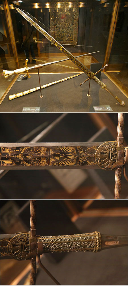 Sword of Holy Roman Emperor Maximilian