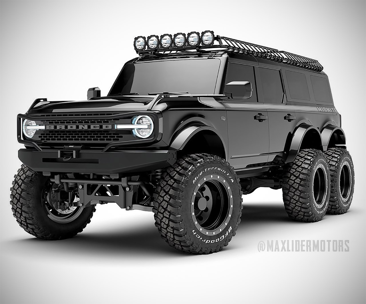 Maxlider Motors 6x6 Ford Bronco