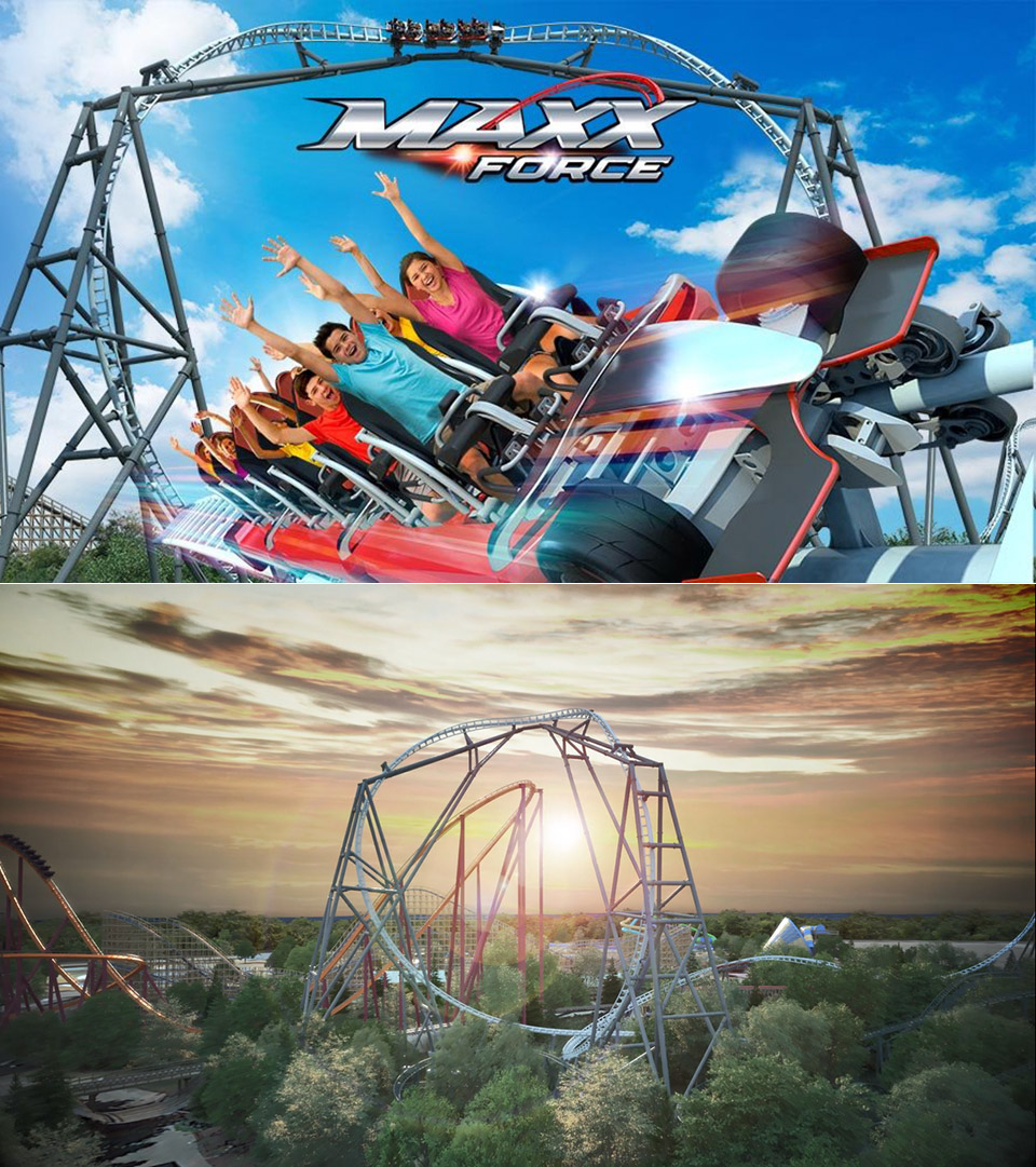 Maxx Force Six Flags Great America