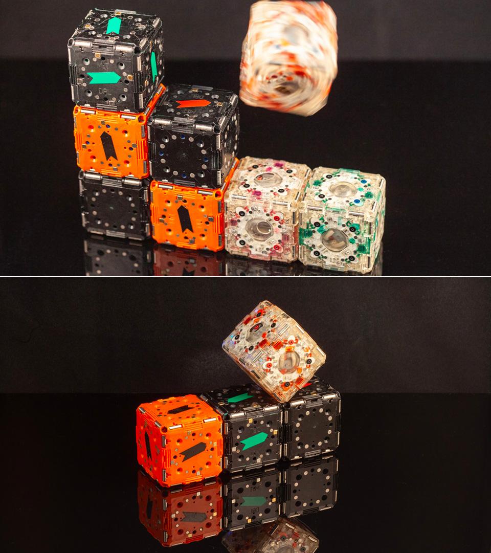 M-Blocks 2.0 Self-Assembling Robots