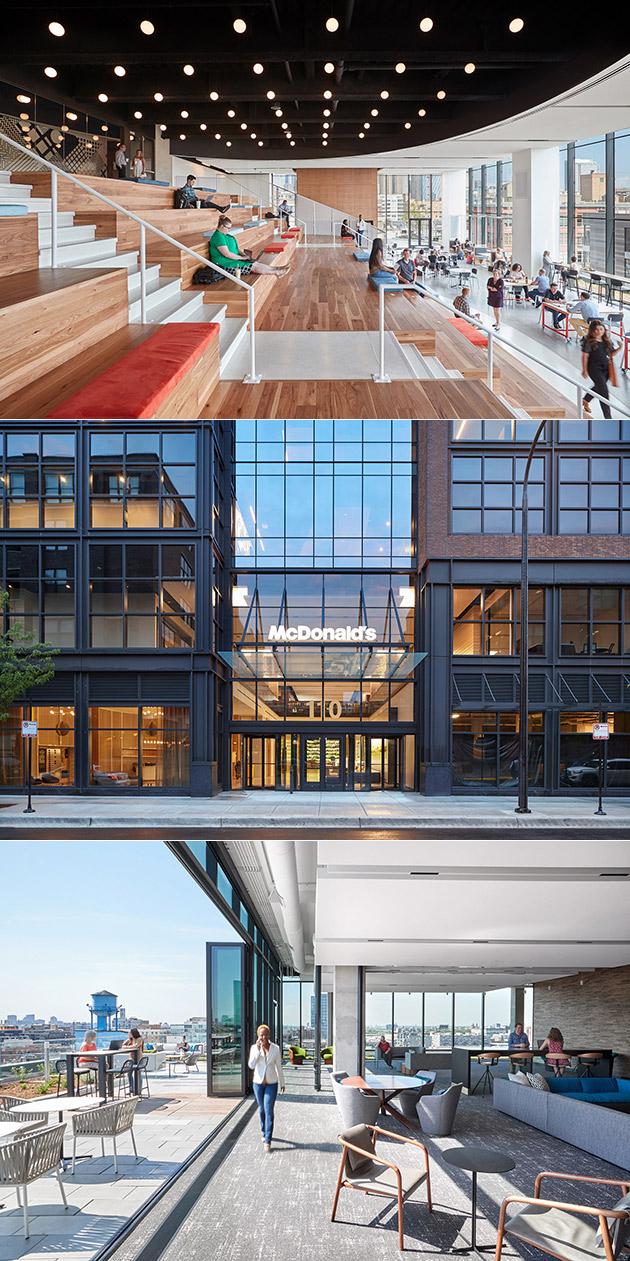 This Isn't an Apple Store, Just a Stunning Look Inside McDonalds' New HQ in Chicago